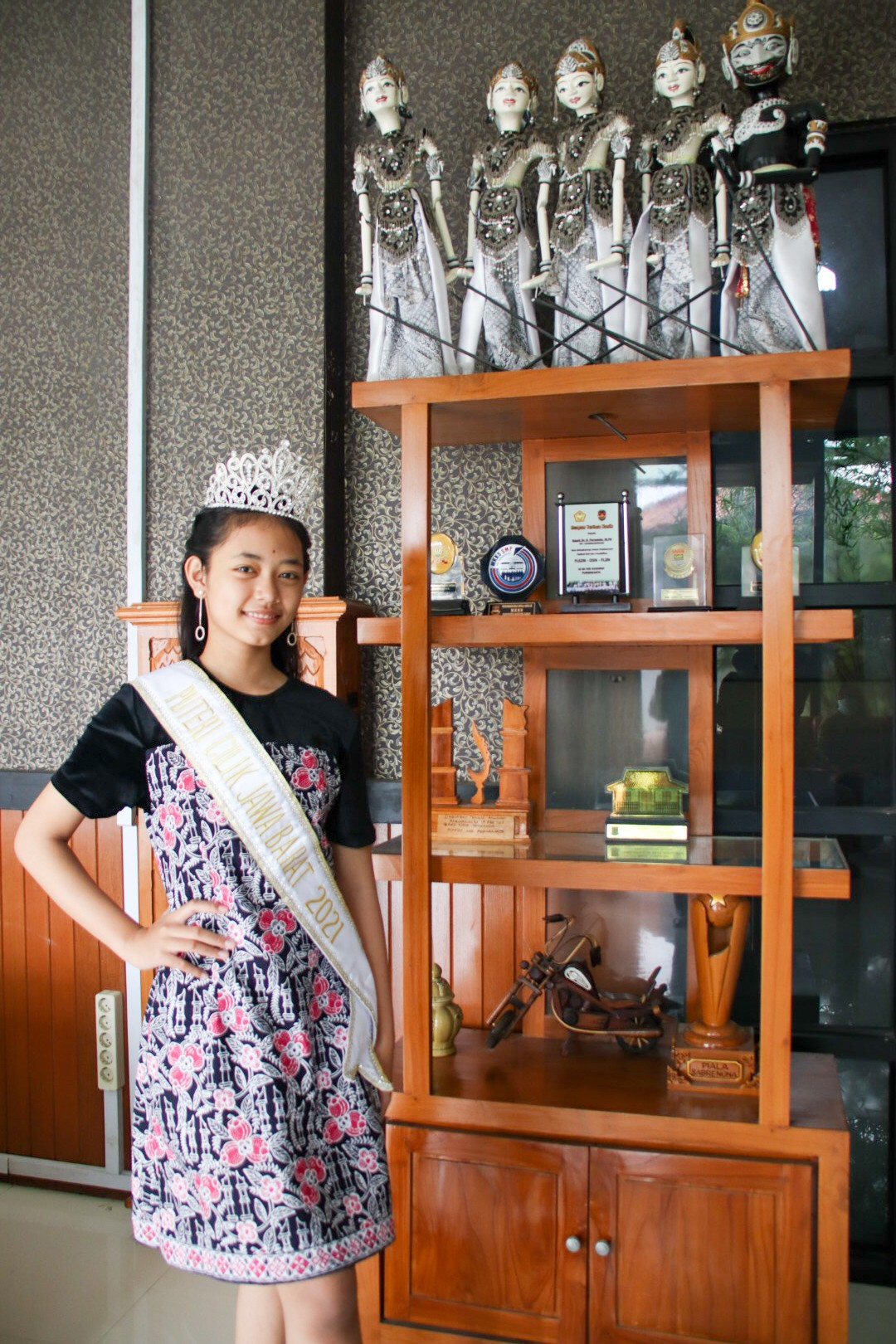 Pelajar Purwakarta Terpilih Sebagai Puteri Cilik Indonesia Jawa Barat