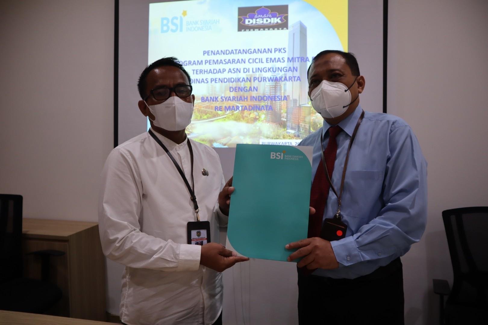 Disdik Jajaki Kerjasama dengan Bank Syariah Indonesia