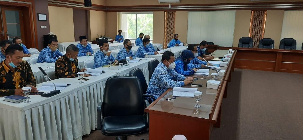 Pansus A DPRD bersama Disdik bahas draf revisi Perda Pendidikan