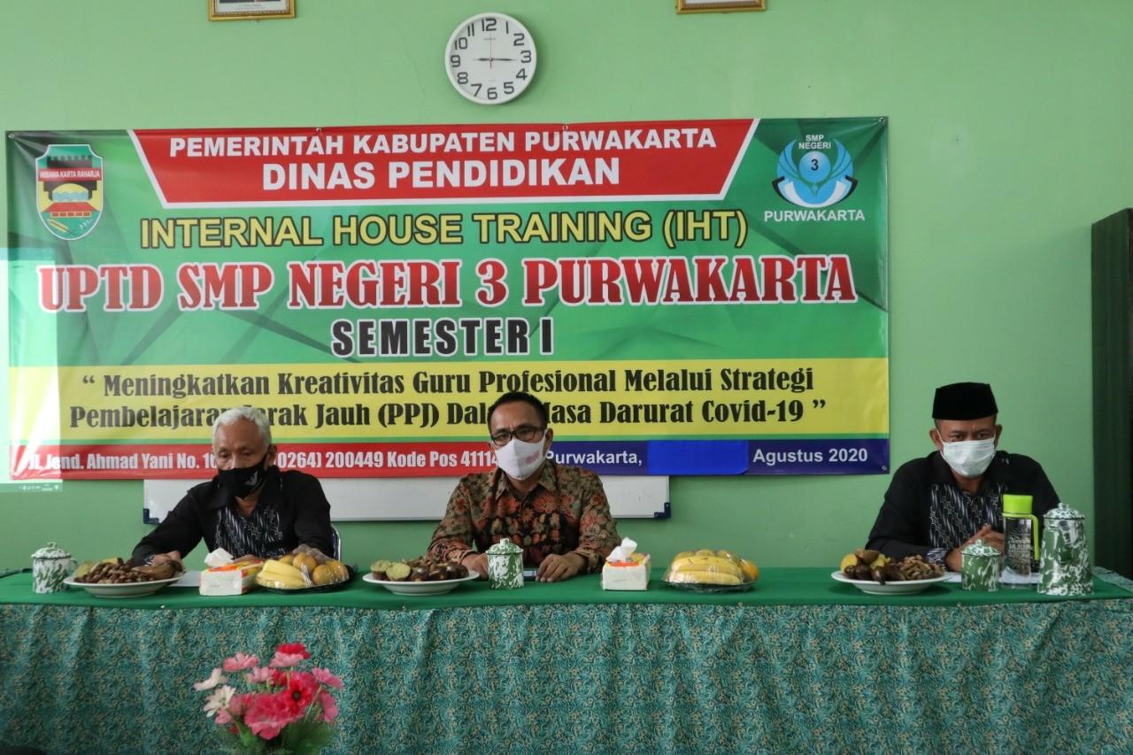 SMPN 3 Purwakarta Konsisten Bangun Branding Sekolah Berbasis IT
