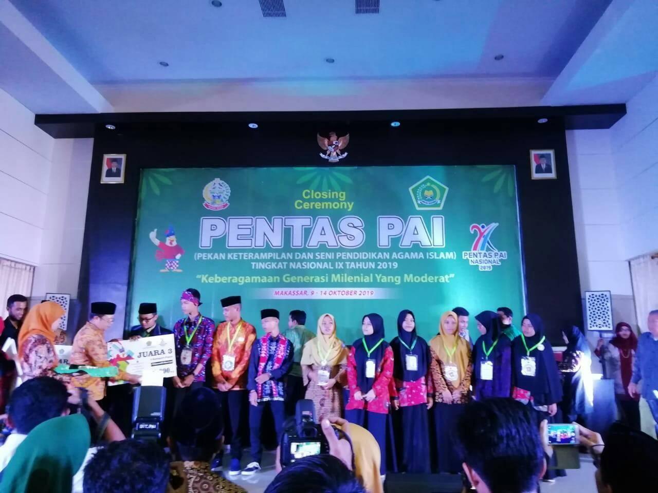 Jawa Barat Raih 13 Medali, Juara Umum Pentas PAI Nasional ke-9