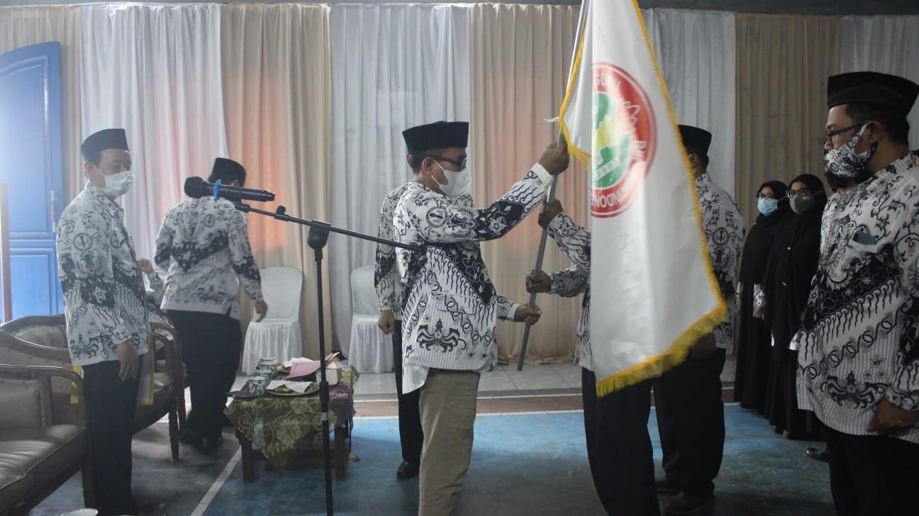 Pengurus Baru PGRI Kecamatan Wanayasa Dilantik