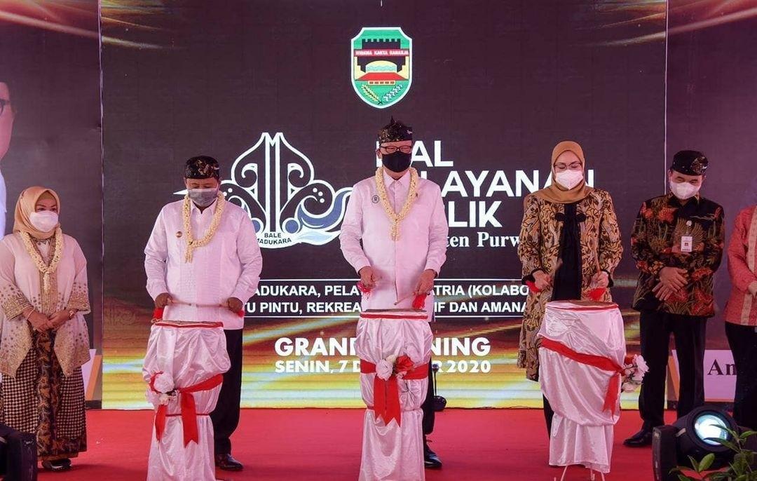 Menteri PAN-RB Resmikan Mall Pelayanan Publik Madukara Purwakarta