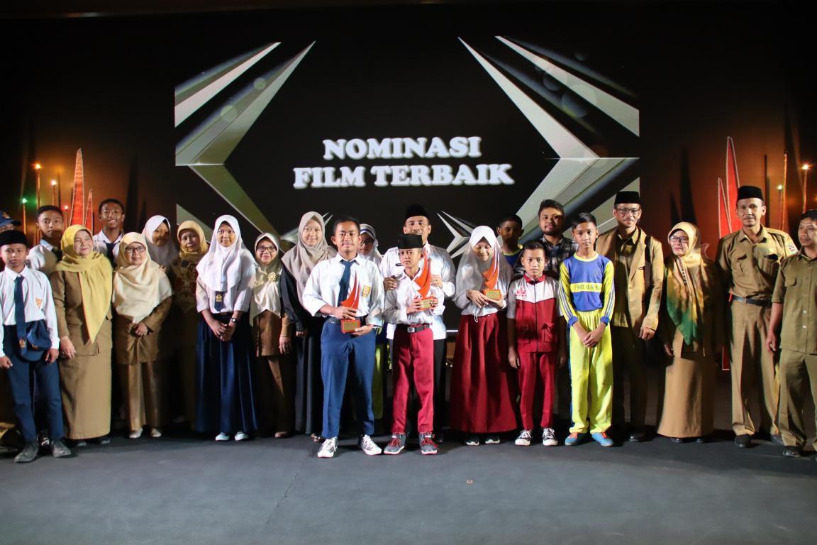 SDN 2 Cilingga Ungguli Tingkat SMP Pada Ajang Fesitval Film Pendek Pelajar