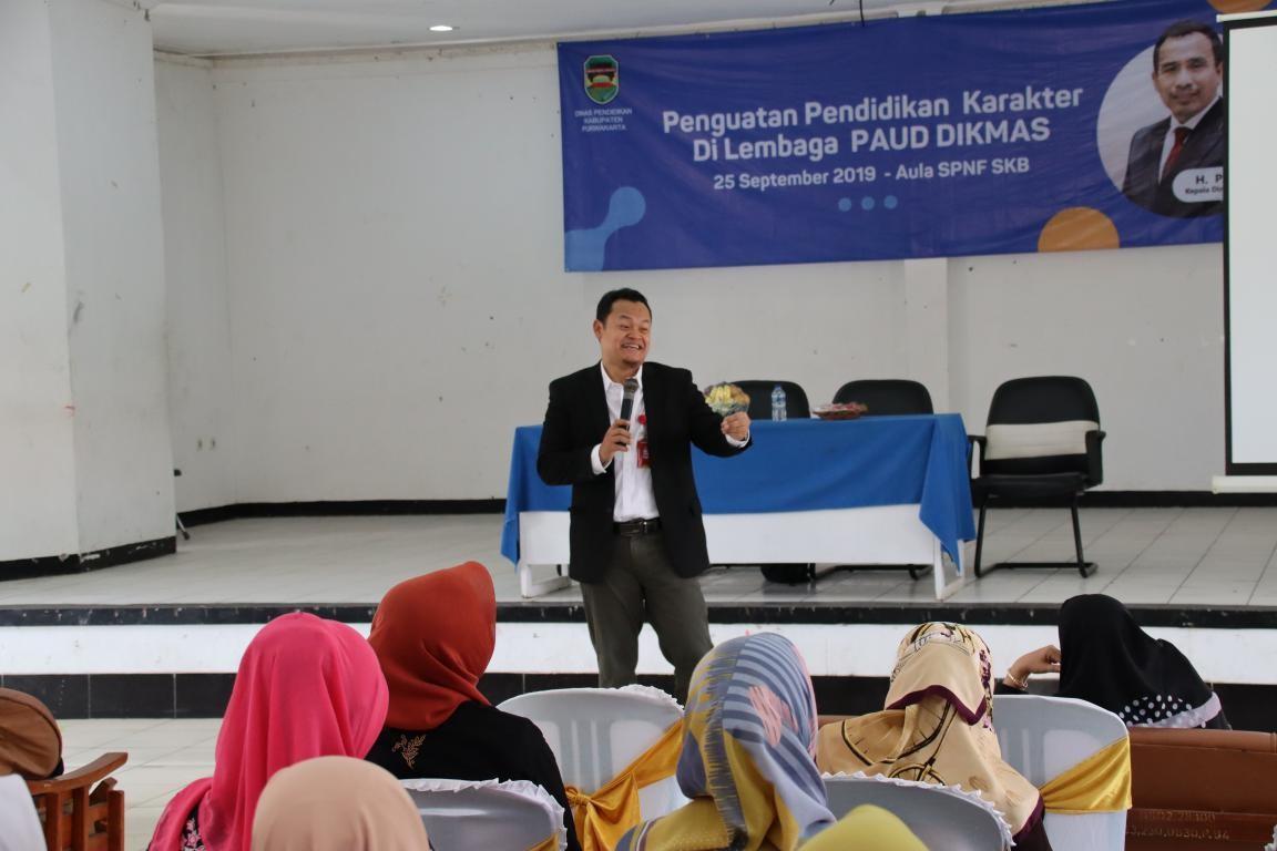 Disdik Gelar Dialog Penguatan Pendidikan Karakter Untuk Lembaga Paud dan Dikmas