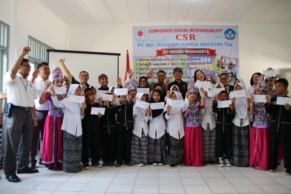 Sdn Wanakerta Terima Bantuan CSR Peningkatan Sarana & Pra-sarana Sekolah