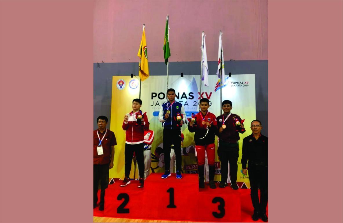 Sumbang Emas Pertama Kontingen Jabar Popnas 2019, Karate PPLP