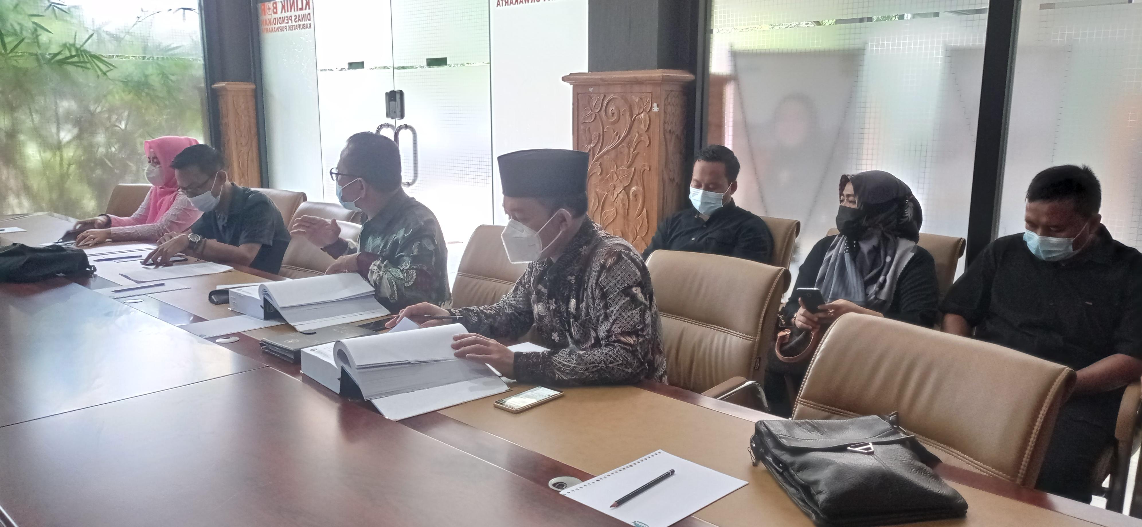 Audiensi Komisi IV DPRD Kab. Purwakarta 2021