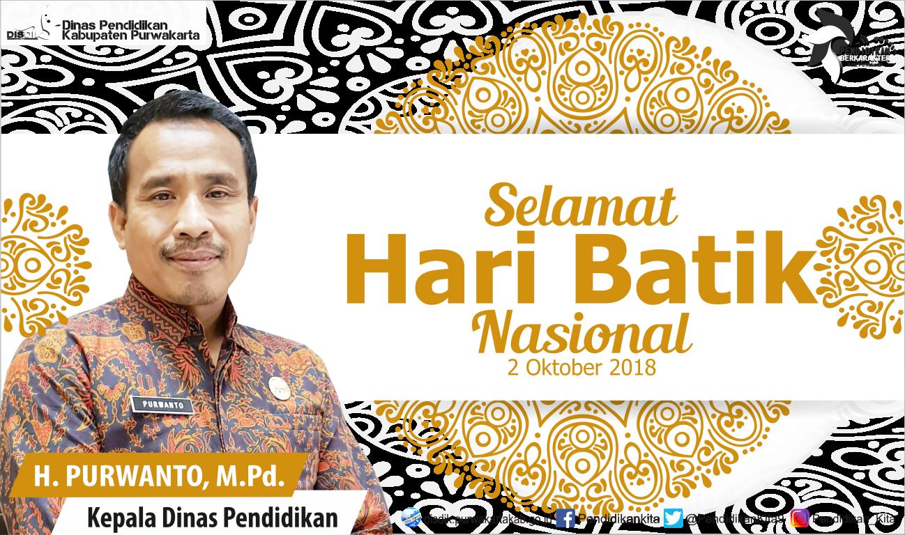 Hari Batik Nasional 2018