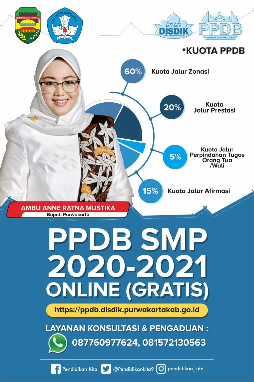 PPDB TAHUN PELAJARAN 2020/2021